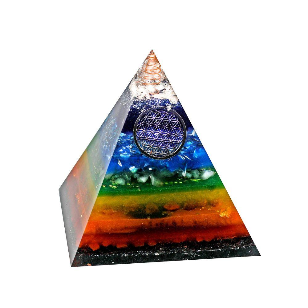 Orgonite Chakra Balancing Pyramid