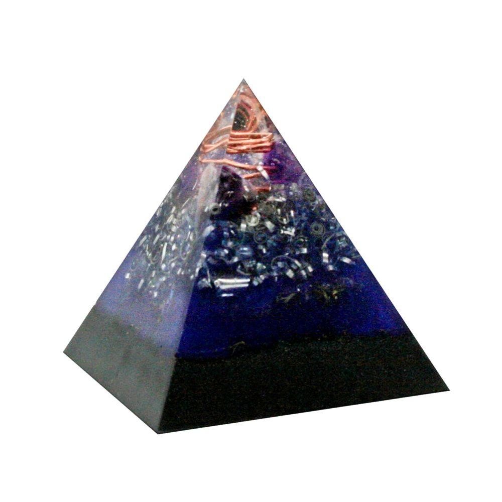 Orgonite Calming Amethyst Pyramid