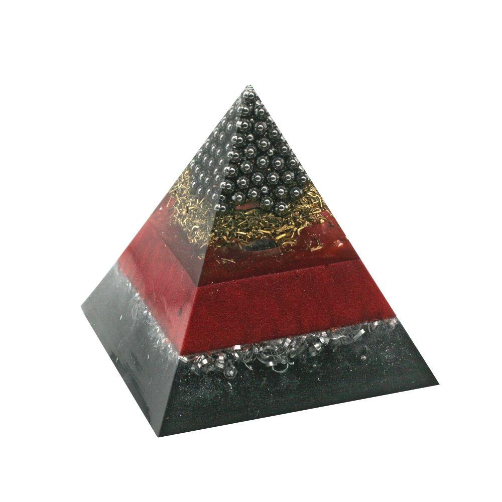 Orgonite Cleanse & Manifest Pyramid