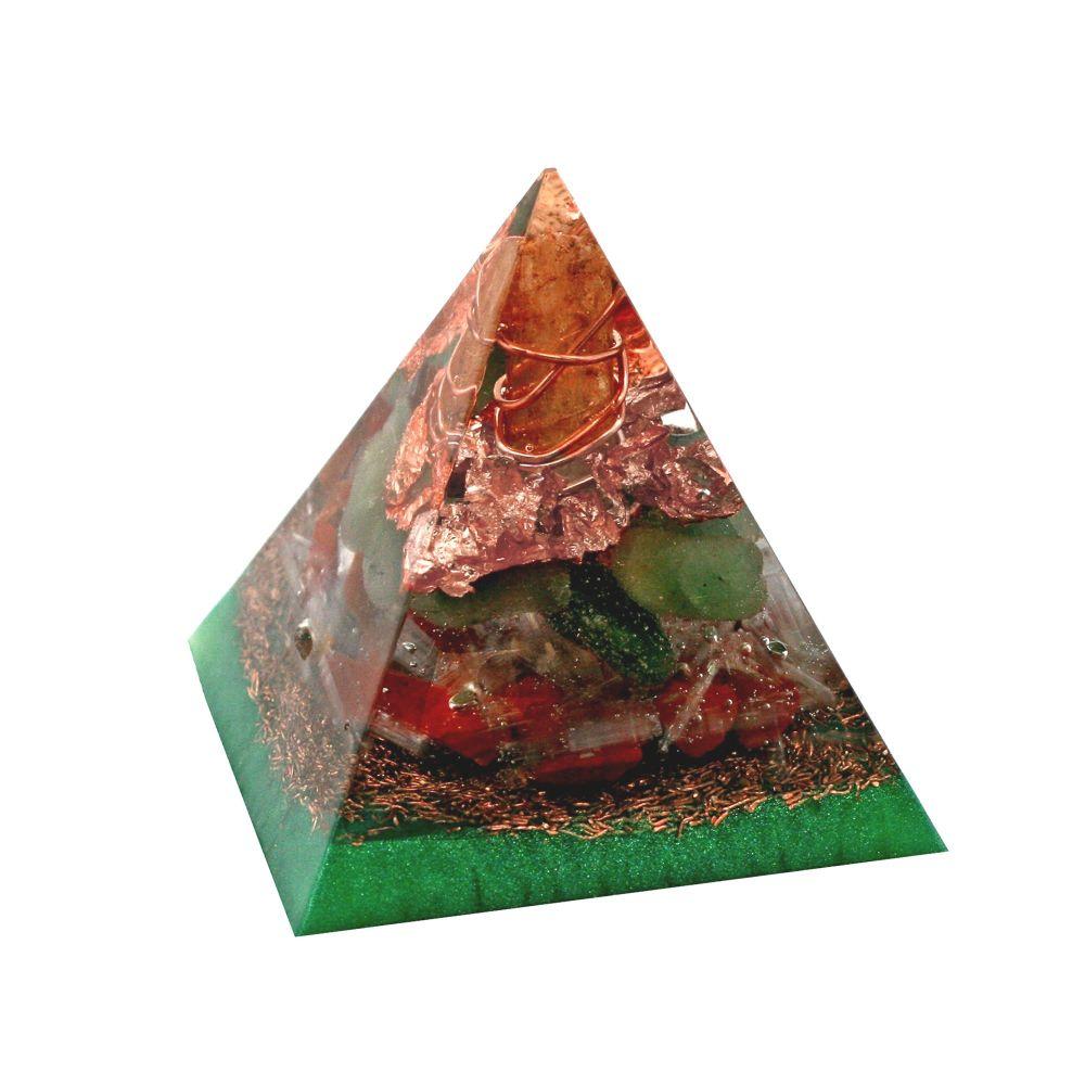 Orgonite Wellbeing Pyramid