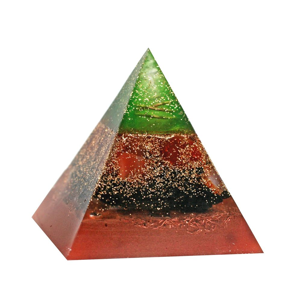 Orgonite Courage & Protection Pyramid