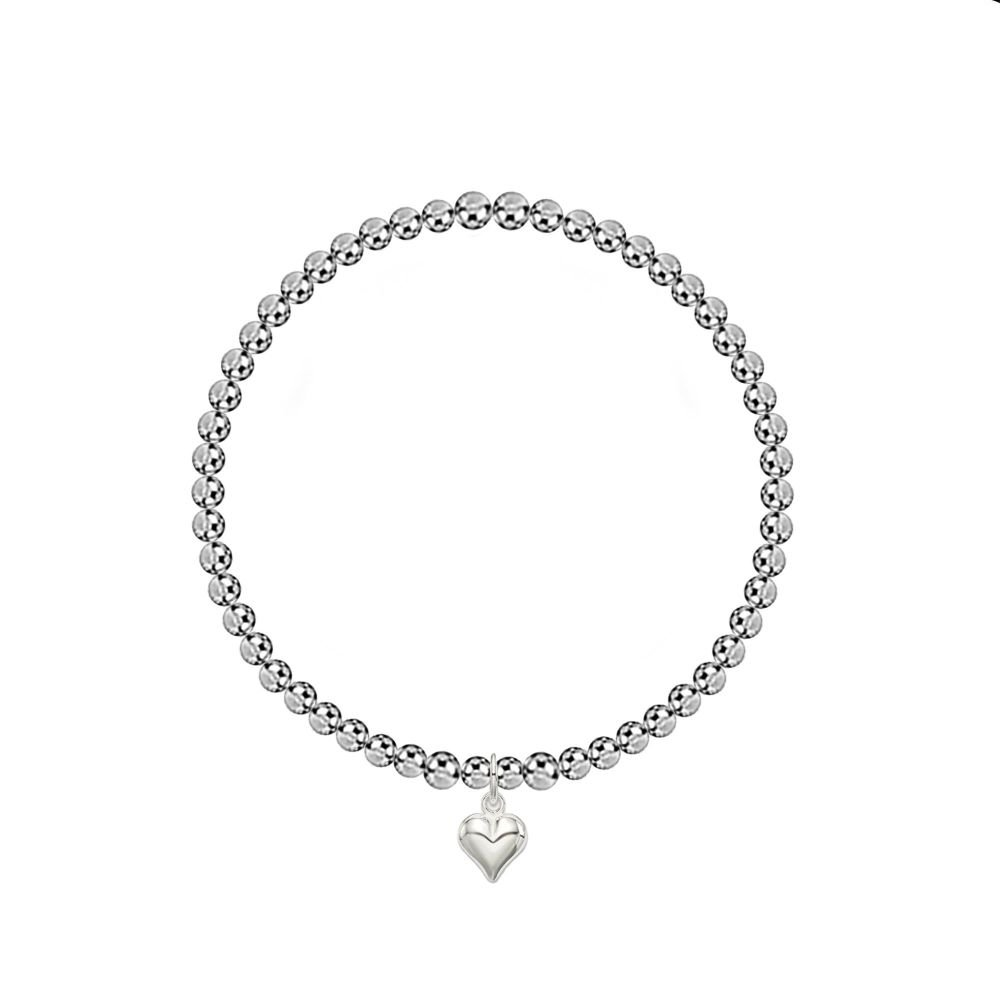 Heart Full of Love Stretch Bracelet
