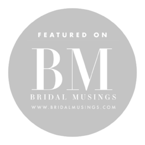 featured in bridal musings