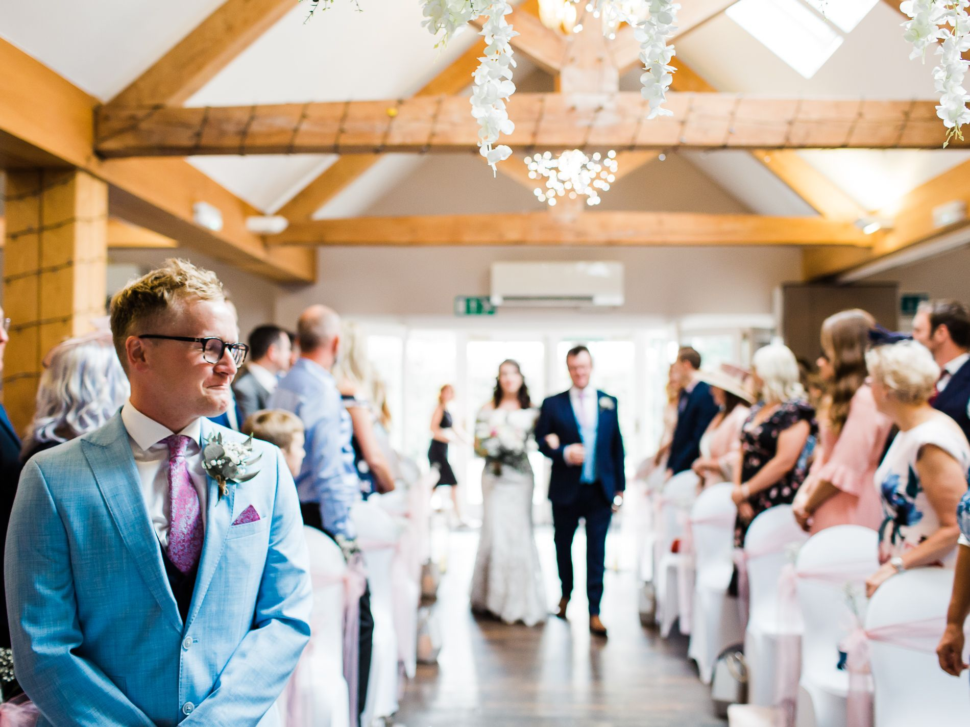 relaxed wedding photography Lichfield