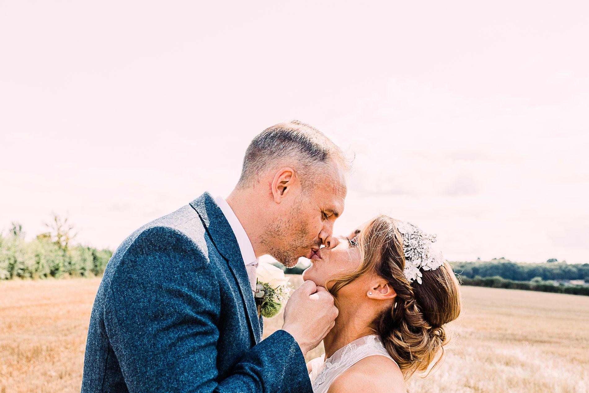 romantic Lichfield wedding photographer