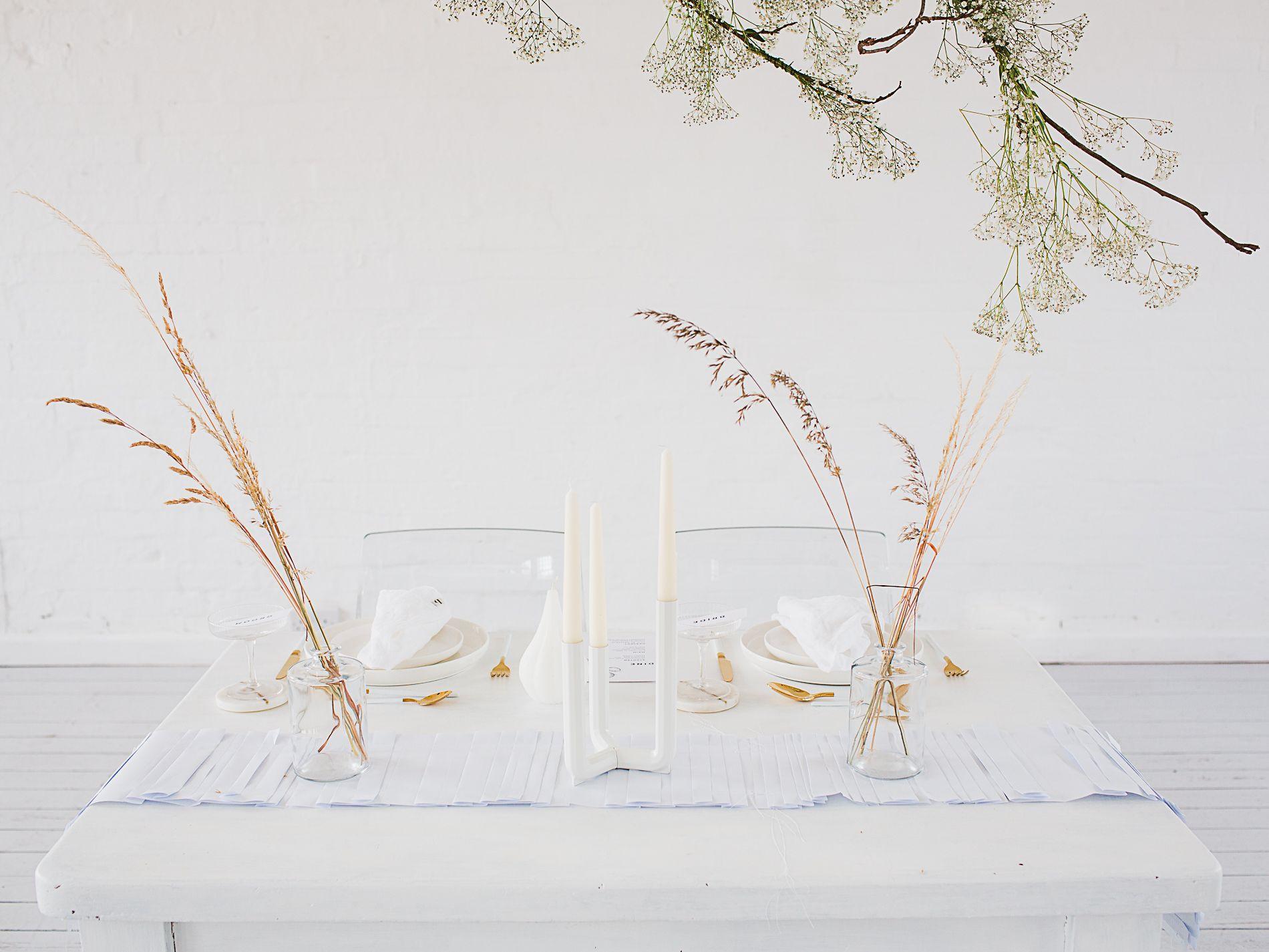 stylish wedding inspo