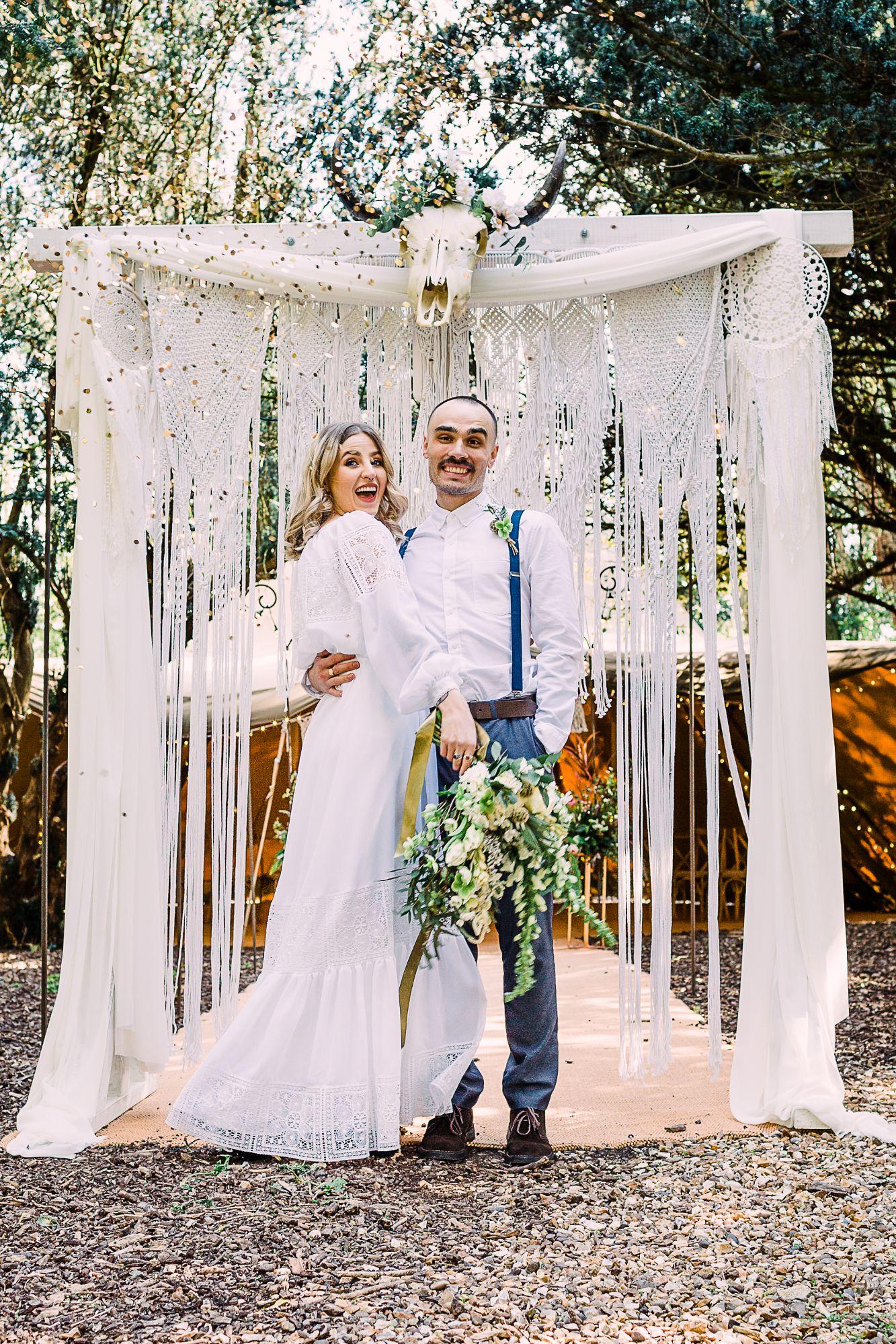 boho wedding Lichfield