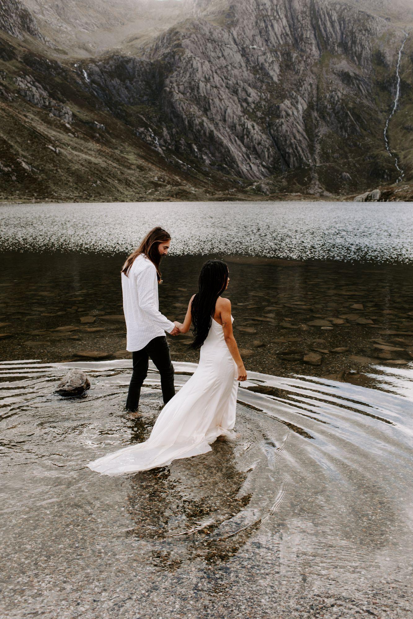 boho chic wedding photography UK