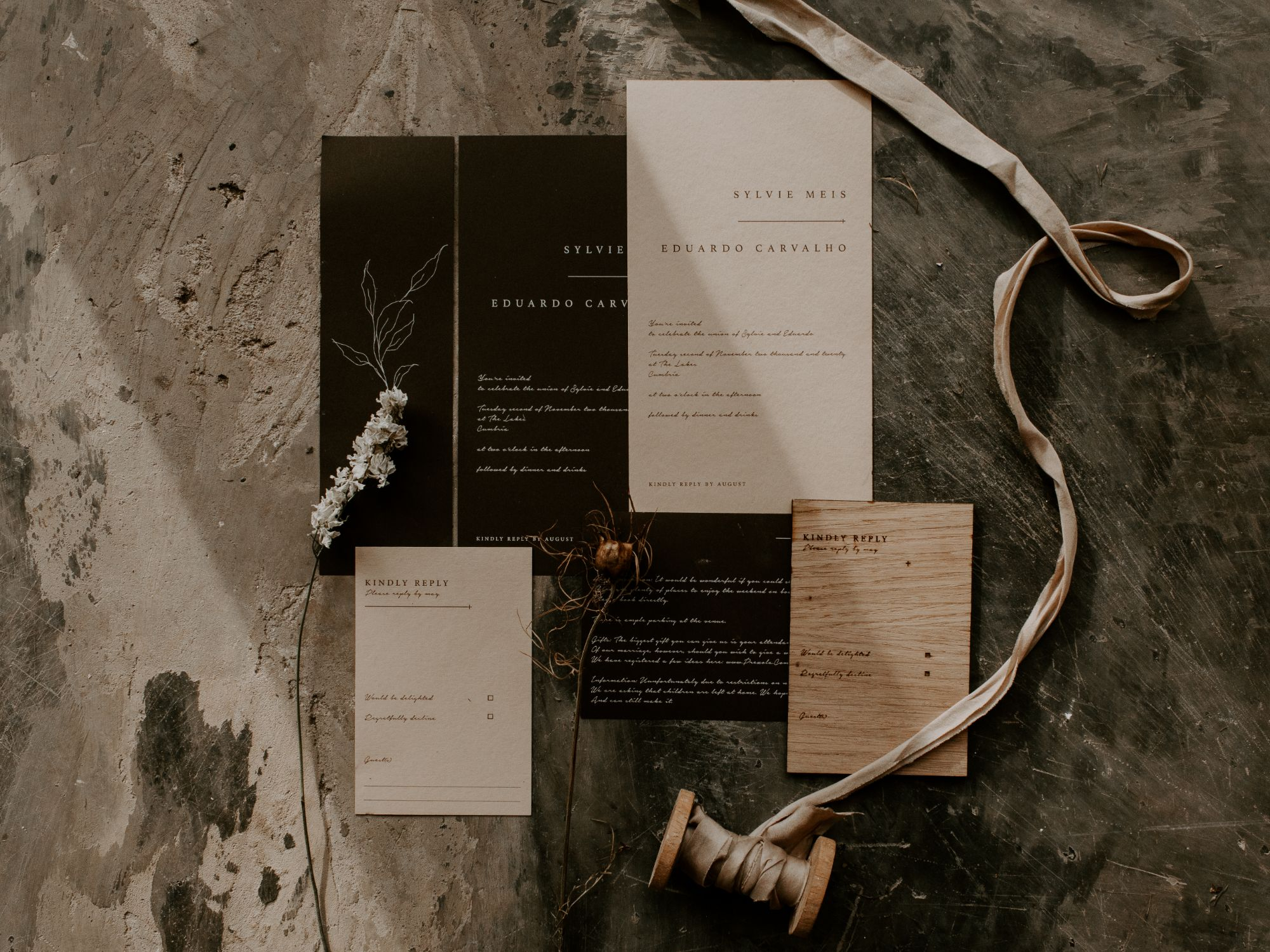 festival vibe wedding details