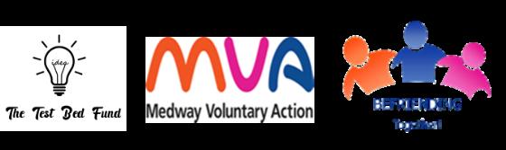 Test Bed Fund. MVA & Befriending Logos