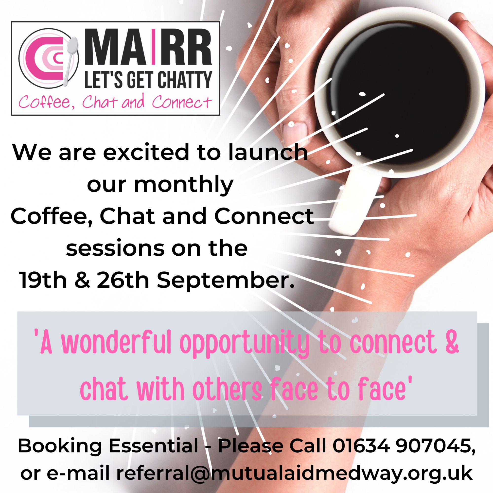 LGC are launch their Coffee, Chat and Connect Sessions