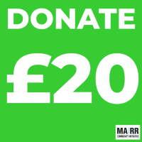 Donate £20 to Mutual Aid Road Reps CIC
