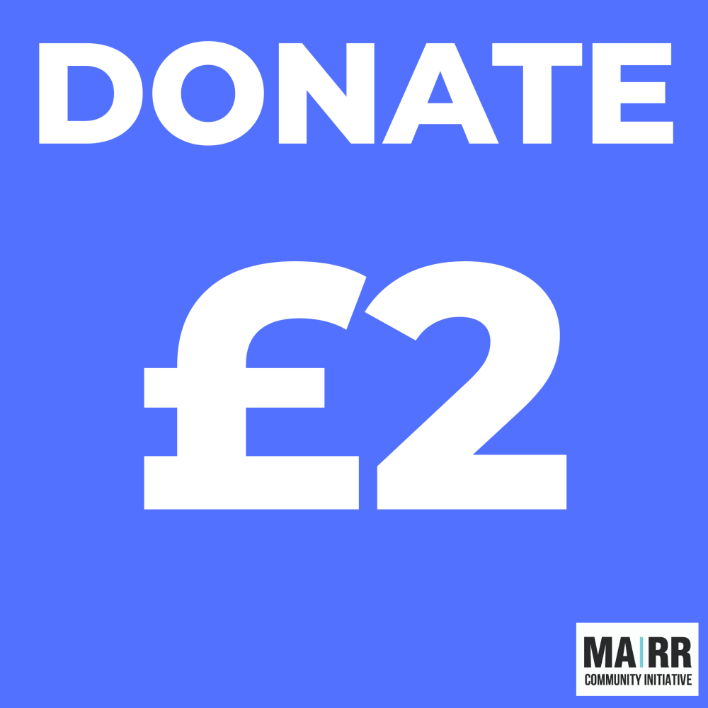 Donate £2 to Mutual Aid Road Reps