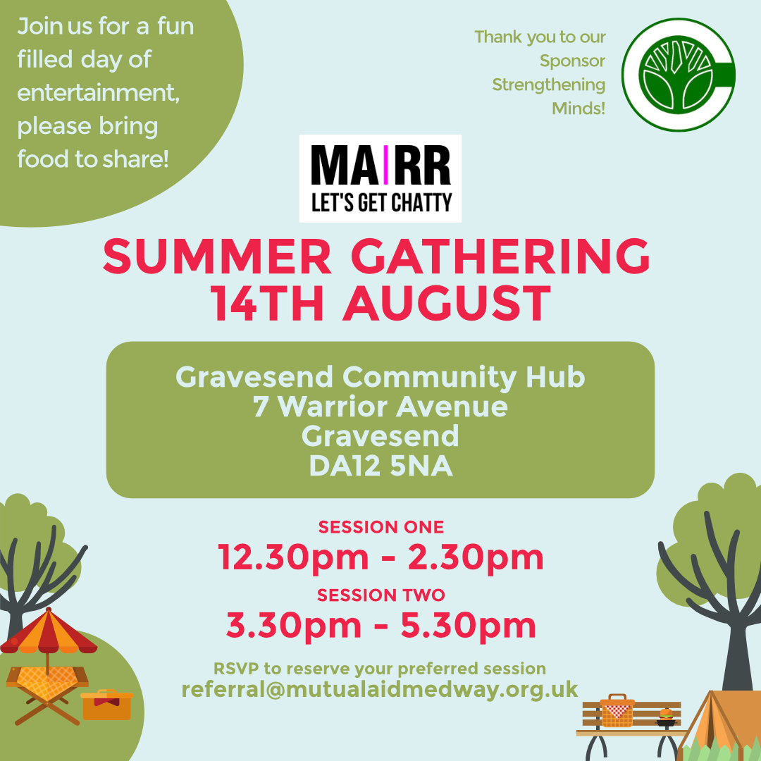 Summer Gathering Poster 14th August