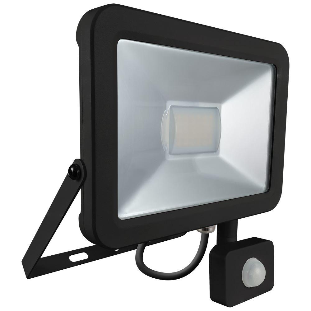 Integrated LED Floodlight with PIR Sensor
