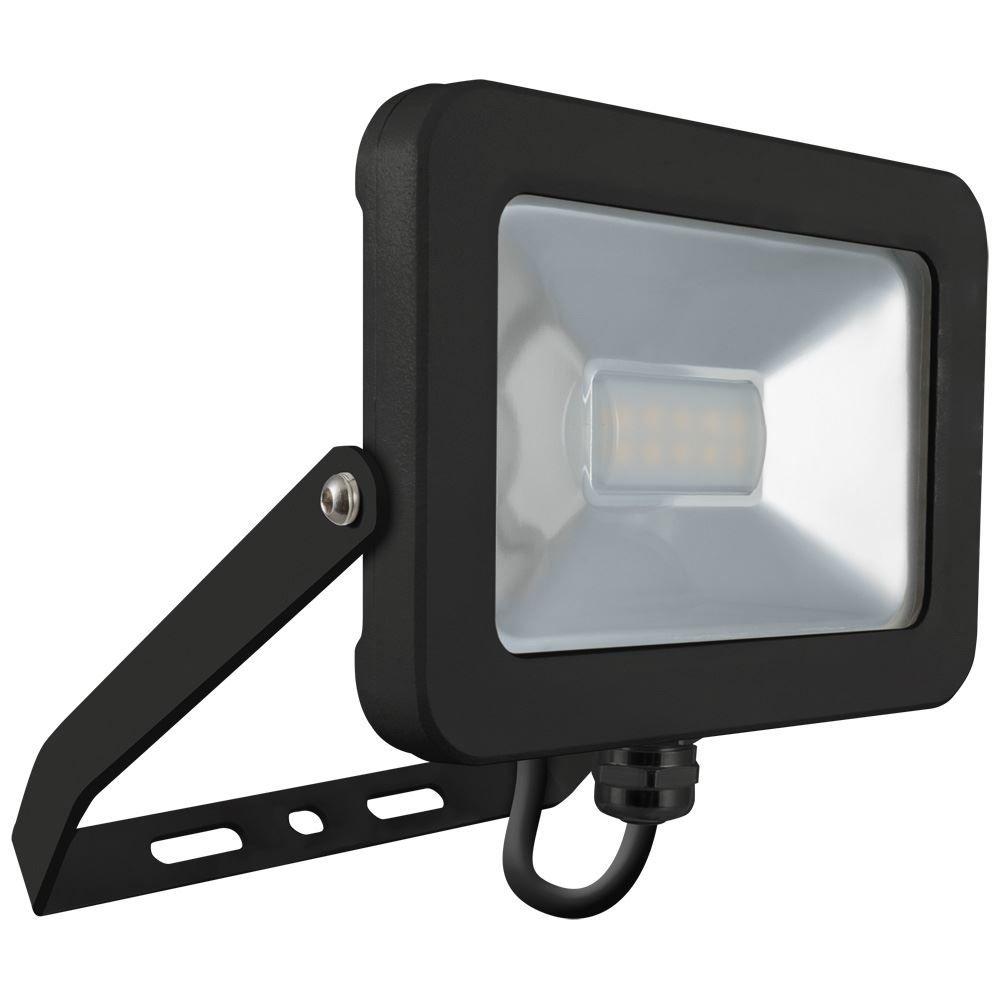 Atlas 10W IP66 Mini Floodlight Black 4000K