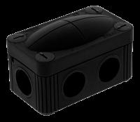 Wiska COMBI 206 BK Junction Box 85X49X51 Black