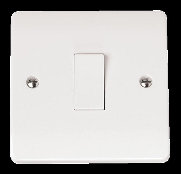 Click Mode 1 Gang Intermediate 10A Plate Switch