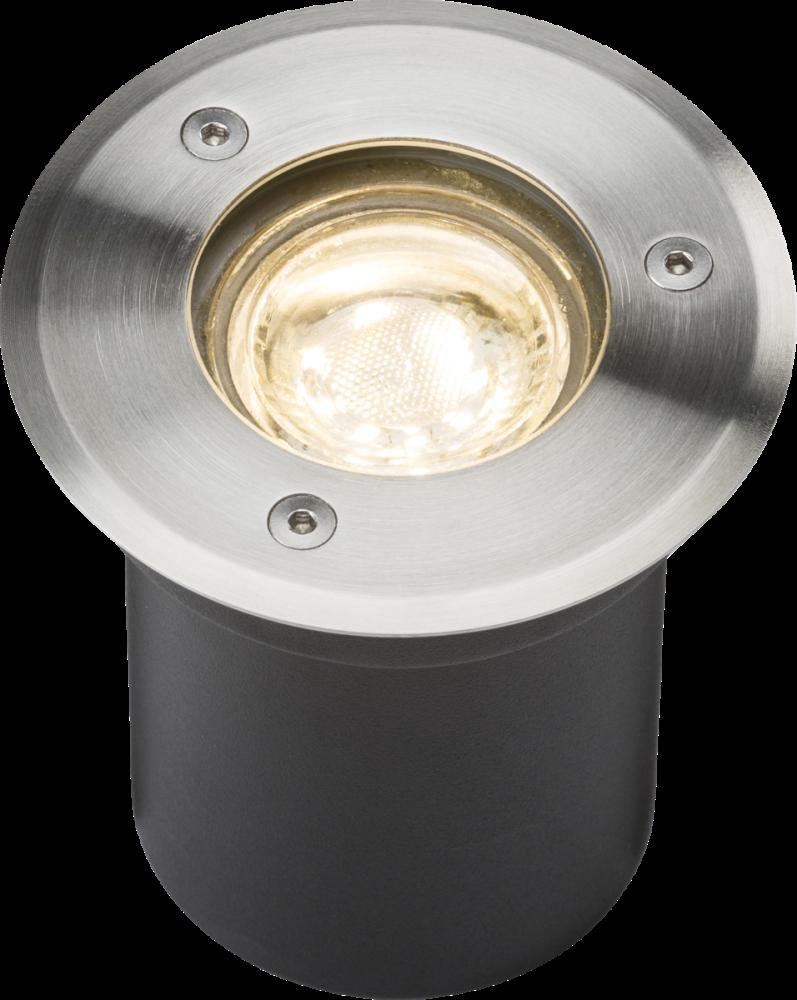 230V IP65 3W LED Recessed Ground Light 3000K