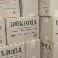 Box roll toilet roll