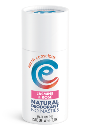 Earth Conscious deodorant stick.  Floral Collection