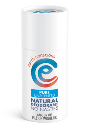 Earth Conscious Deodorant stick. Unscented.