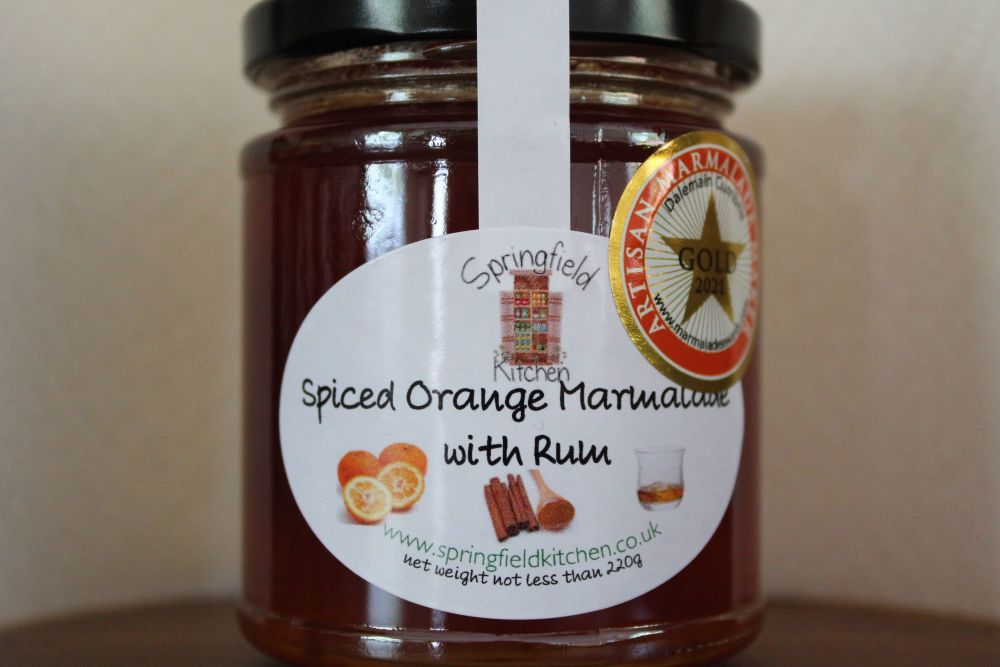 Spiced Orange Marmalade and Rum