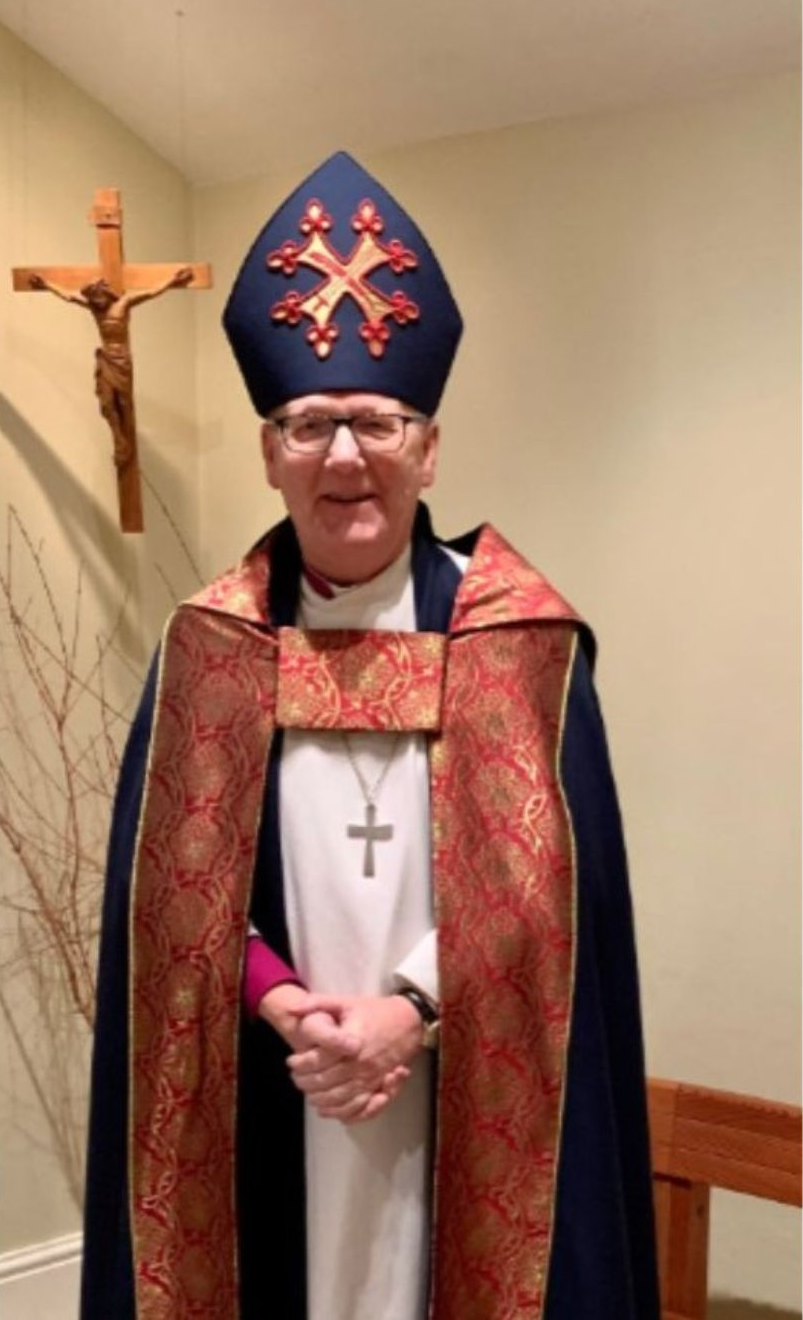 Bishop of St Alban with mitre