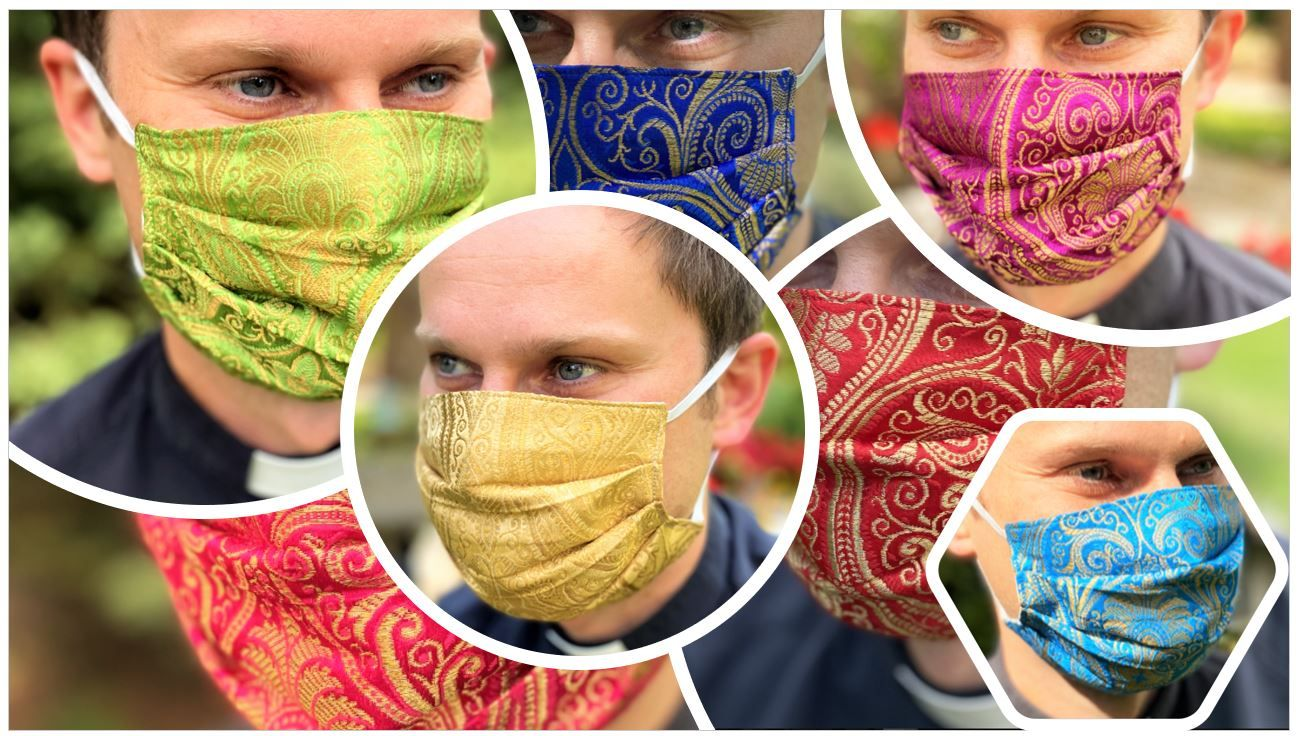 Limited Edition Ecclesiastical Seven Pack of Masks