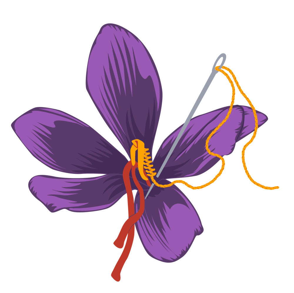 Saffron Stitch - Logo