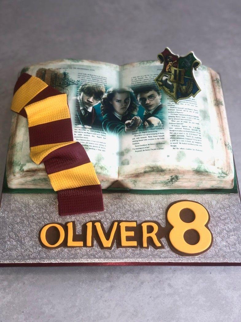 Harry Potter Birthdat Cake