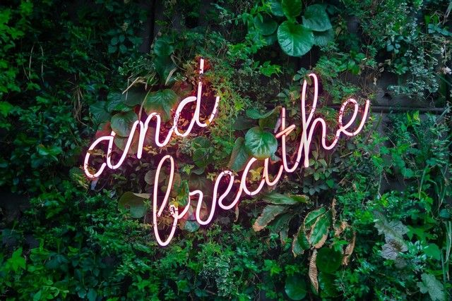 just breath - well being post