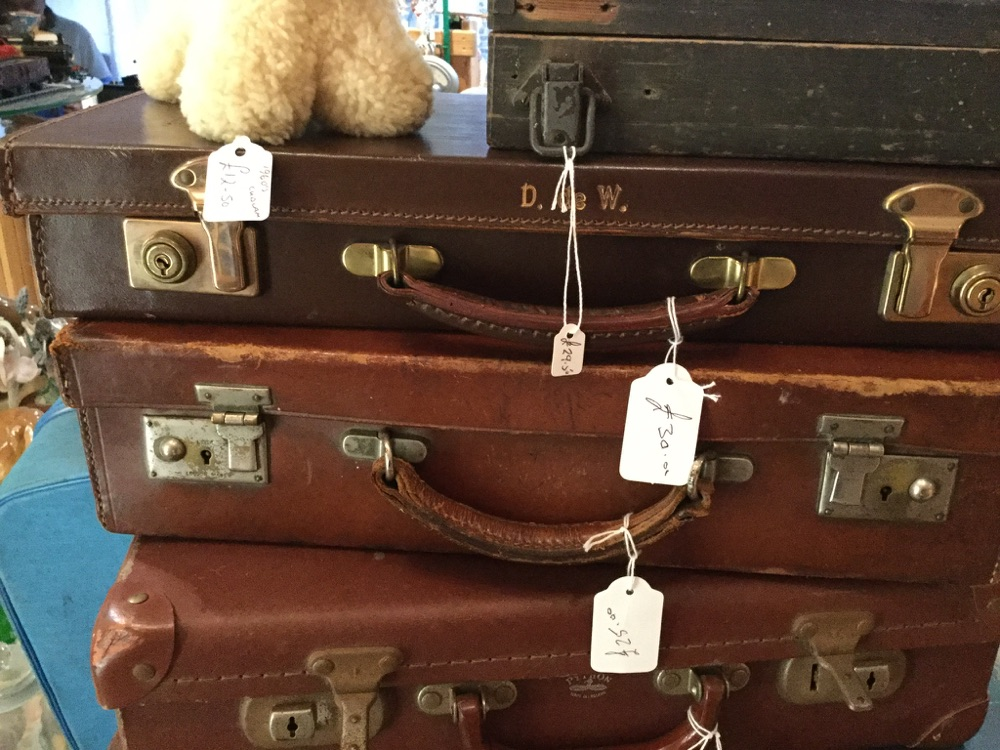 Trunks, suitcases
