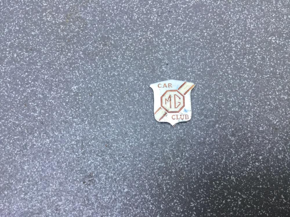Vintage MG Badge