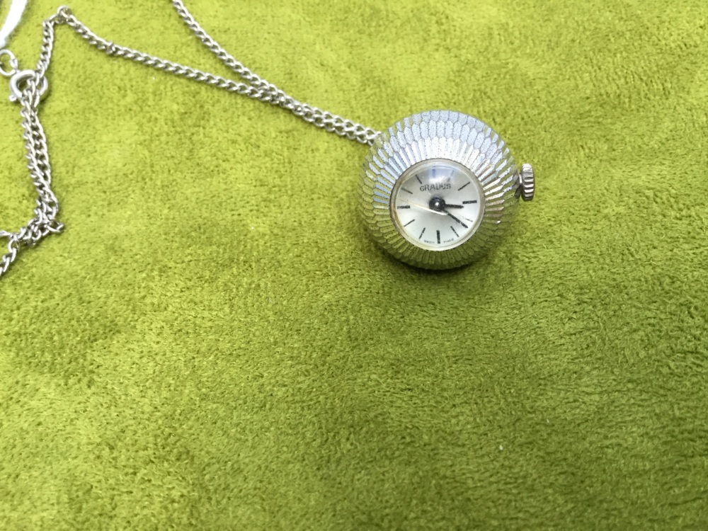 Vintage pendant watch