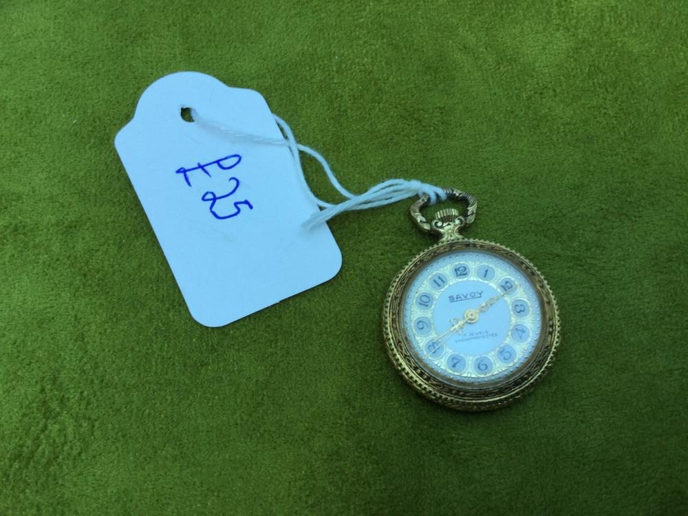 Vintage Savoy Ladies Pendant/pocket watch