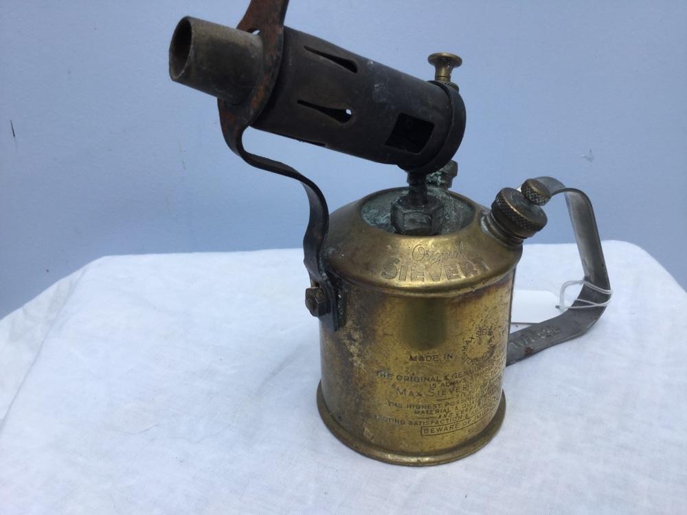 Original Sievert Blow lamp