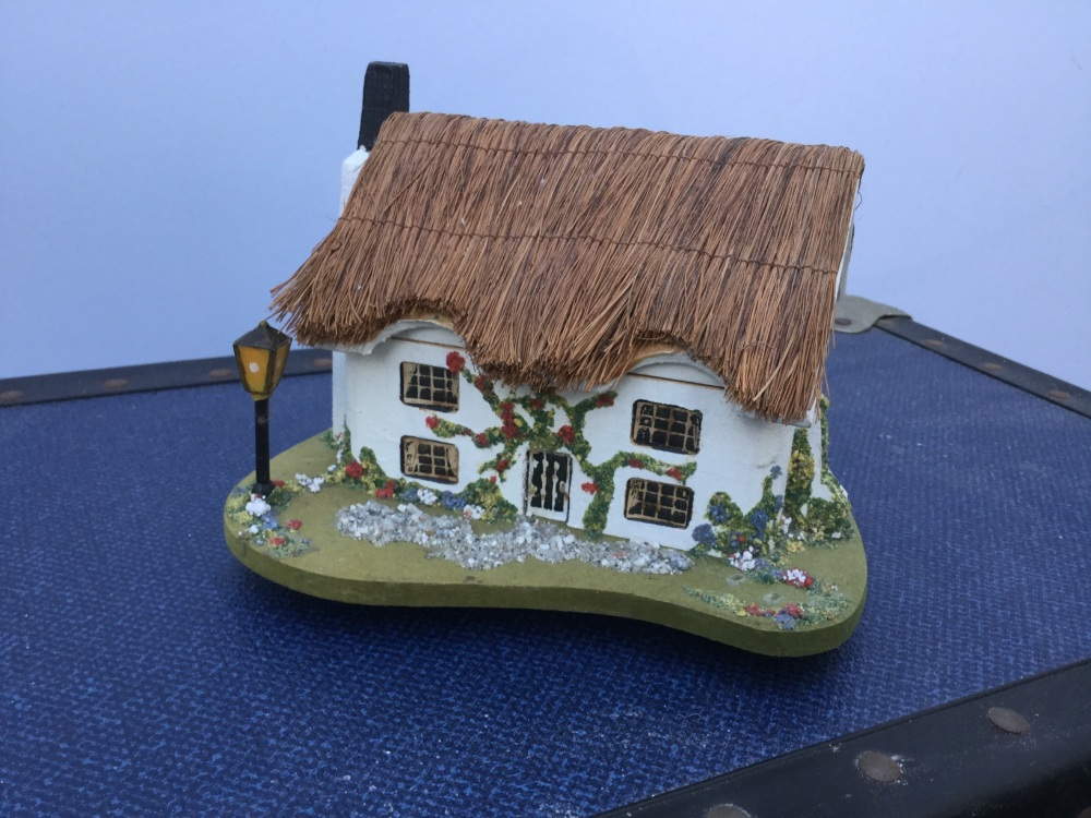 Cottage music box