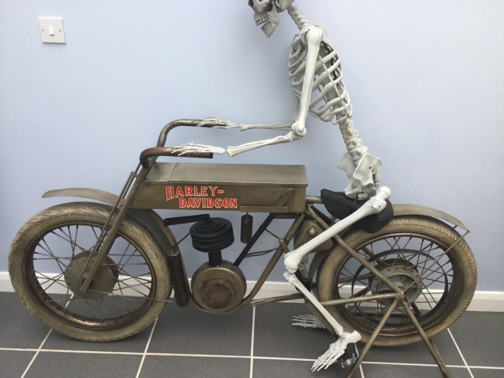 Harley Davidson life size model