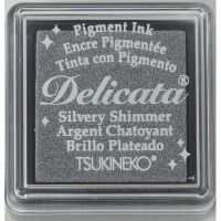 Delicata Silvery Shimmer Small Ink Pad