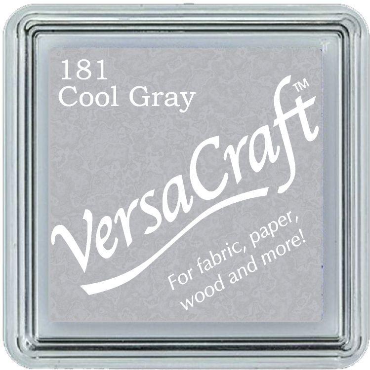 Versacraft Ink Pad Cool Grey (fabric, wood, paper etc)