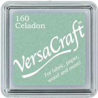 Versacraft Ink Pad Celadon (fabric, wood, paper etc)