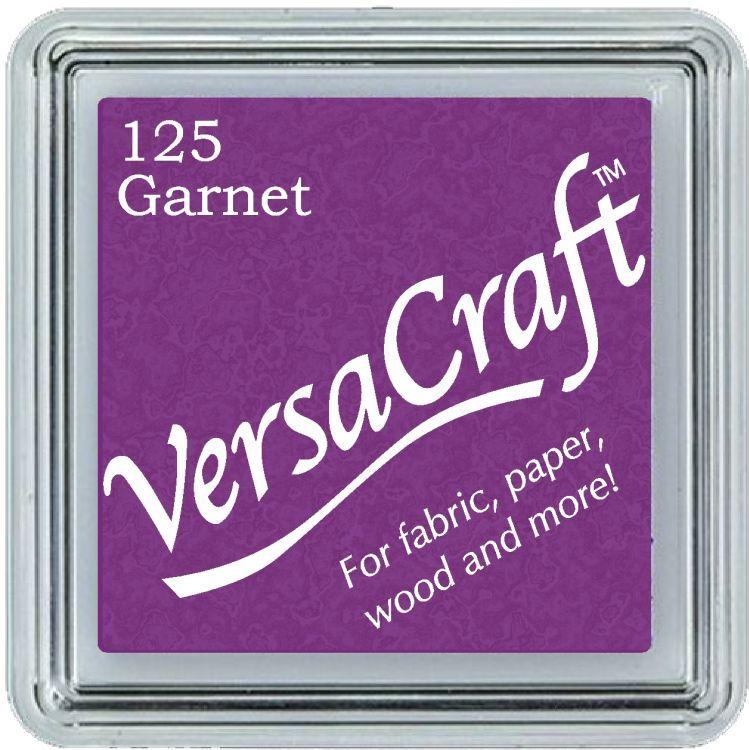 Versacraft Ink Pad Garnet (fabric, wood, paper etc)