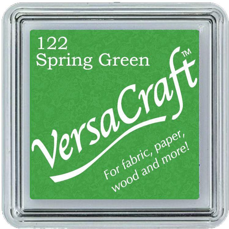 Versacraft Ink Pad Spring Green (fabric, wood, paper etc)