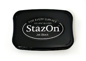 Stazon Ink for every surface. WE RECOMEND!