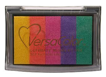 Versa colour Rainbow ink paper/card