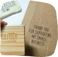 Thank you for supporting my small business