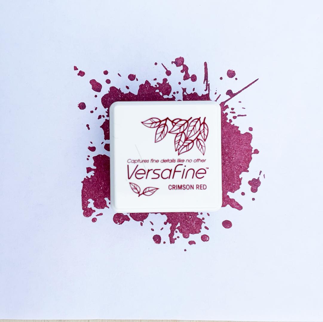 Crimson Red Versafine Ink