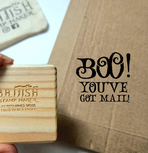 Boo you've got mail