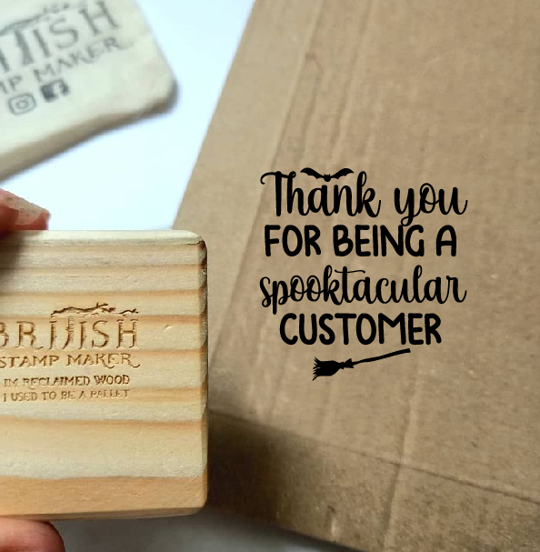 Thankyou for being a spooktacular customer